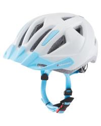 White/Blue Children's Bike Helmet