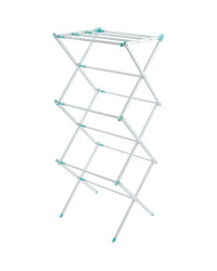 White/Green 3-Tier Expanding Airer