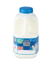 Whole Milk - 1 Pint