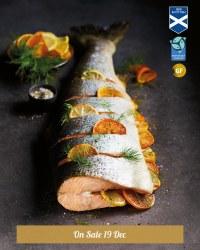 Whole Scottish Salmon