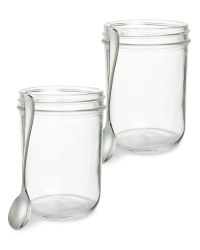 Wide Serving Jars 2-Pack