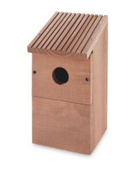 Wild Bird Classic Nest Box - Brown