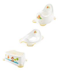 Winnie The Pooh Toilet Training Set