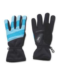Crane Blue Cycling Gloves
