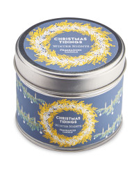 Winter Nights Fragranced Tin Candle