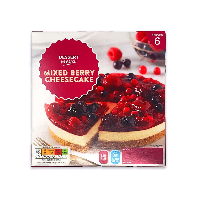 Winterberry Cheesecake