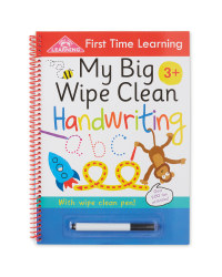 Wipe Clean Book First Handwriting