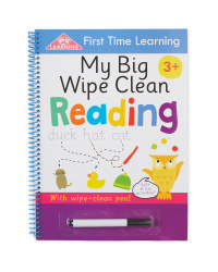 Wipe Clean Book Reading