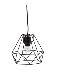 Illumination Wire Pendant Light - Black