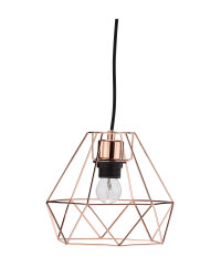 Illumination Wire Pendant Light - Copper