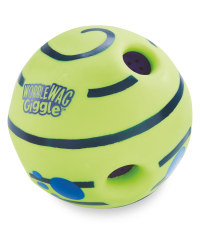 Wobble Wag Giggleball Dog Toy - Green