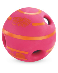 Wobble Wag Giggleball Dog Toy - Pink