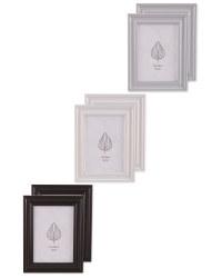Wood Effect Frames 2 Pack
