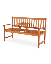 Wooden Bench/Love Seat