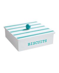 Wooden Biscuit Set - Blue