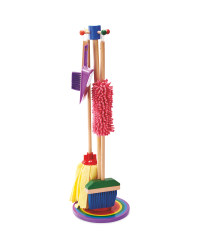 Rainbow Wooden Cleaning Set