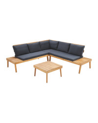 Fabulous Large Wooden Sofa Table Set Download Free Architecture Designs Photstoregrimeyleaguecom