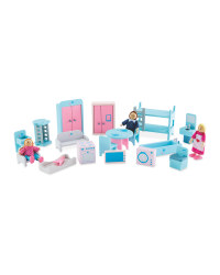 Wooden Doll's House Indoor Furniture