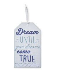 Wooden Dreams Signs Twin Pack