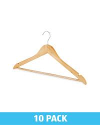 Wooden Hanger 10 Pack