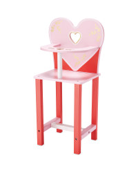 Little Town Wooden Highchair