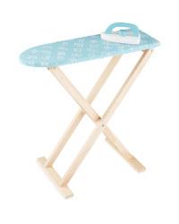 Wooden Ironing Set - Mint