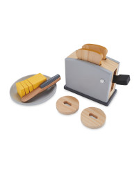 Little Town Wooden Toaster Set