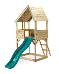 Wooden Lookout Playhouse
