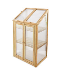 Natural Small Wooden Greenhouse