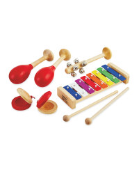 Wooden Maracas Percussion Set