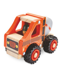 Wooden Vehicle Cement Mixer