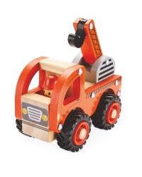 Wooden Vehicle Crane