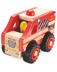 Wooden Vehicle Fire Truck