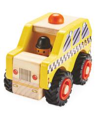 Wooden Vehicle NY Taxi