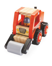 Wooden Vehicle Road Roller