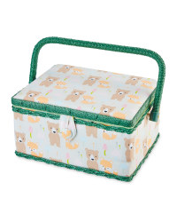 Woodland Rectangle Sewing Box