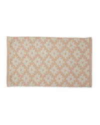 Wool Rich Doormat - Pink