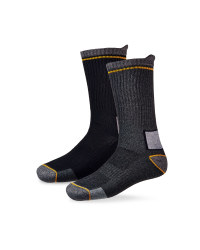 Work Socks - Black/Charcoal