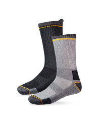 Work Socks - Charcoal/Grey