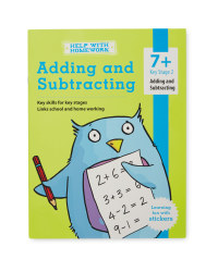 7+ Add and Subtract Workbook
