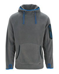 Workwear Fleece Hoody - Grey