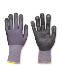 Workwear Light/Dark Grey Gloves