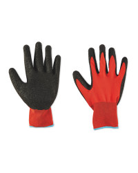 Workwear Large Red Builders Gloves