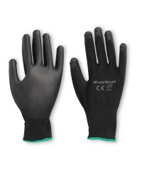 Workwear Multi Purpose Gloves 2-Pack - Black