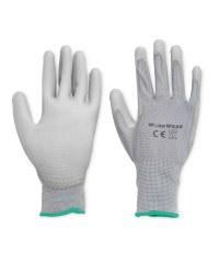 Workwear Multi Purpose Gloves 2-Pack - Grey