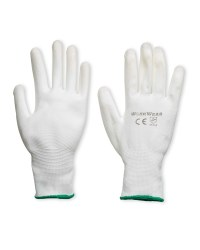 Workwear Multi Purpose Gloves 2-Pack - White