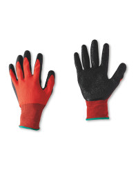 Workwear Red Builders Gloves