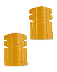 Workwear Trouser Knee Pads - Yellow