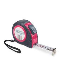 Workzone 10 Metre Measuring Tape - Pink