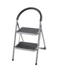 Workzone 2-Step Grey Stool
